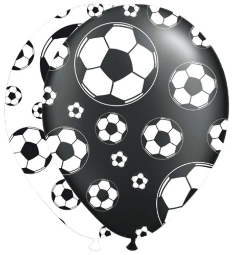 Folat Soccer Ballonnen Party 8 Stuks