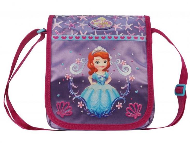 Disney Sofia schoudertas parels 5 x 20 x 23 cm paars