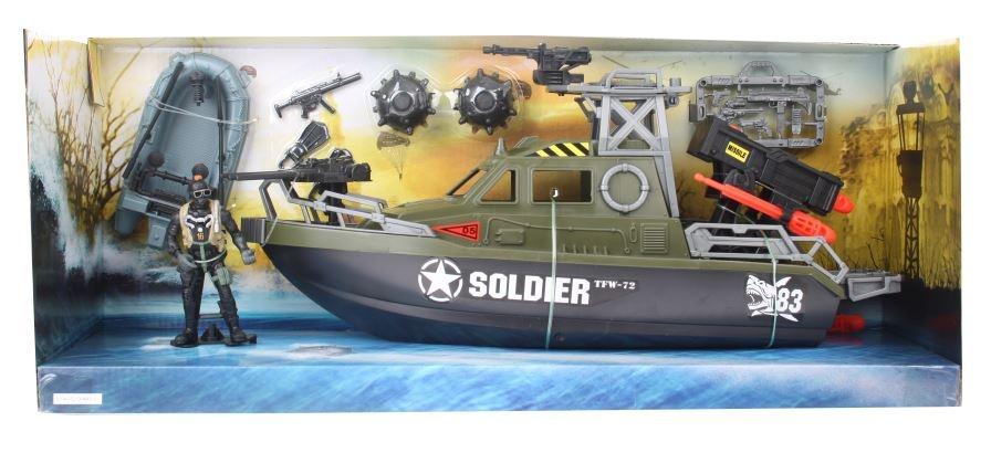 Soldier Force Gevechtsvoertuig: boot