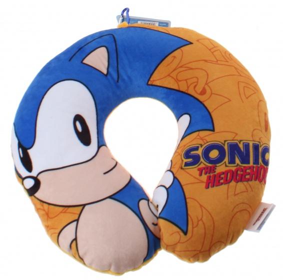 Kamparo nekkussen The Hedgehog 28 x 30 cm oranje/blauw kopen