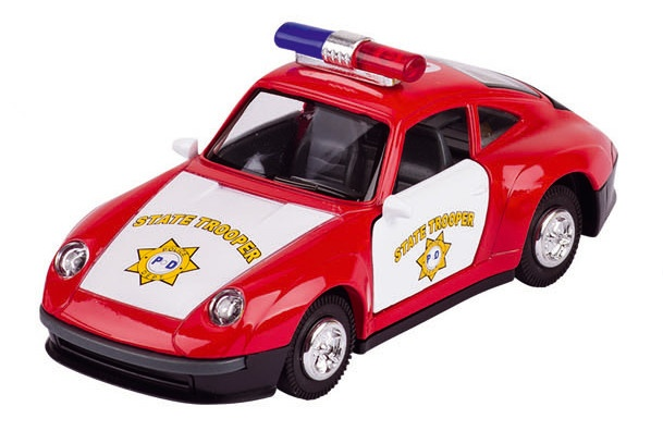 Goki Metalen Brandweerauto: Rood 14,5 cm