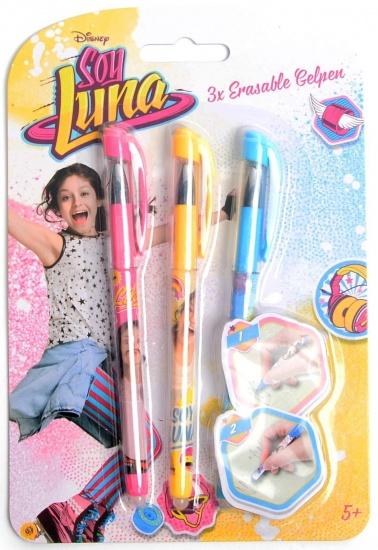 Disney Soy Luna gelpennen uitwisbaar 3 stuks