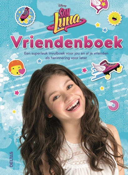 Soy Luna vriendenboek 22 x 16 cm