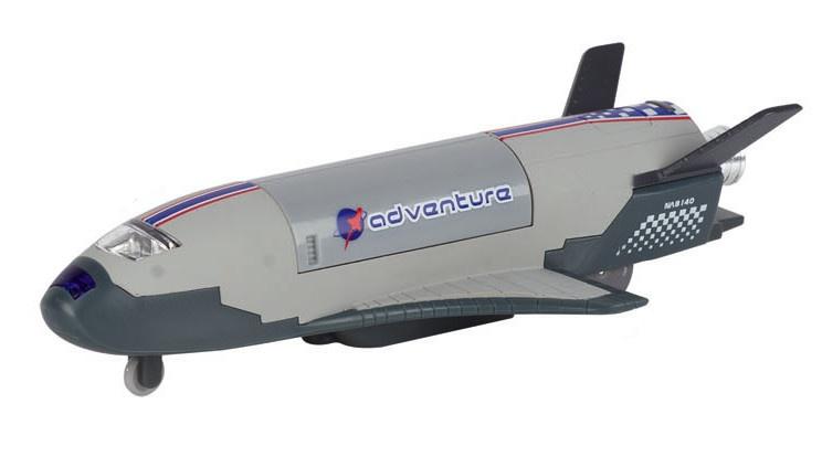 Space Shuttle Grijs 18.5 cm