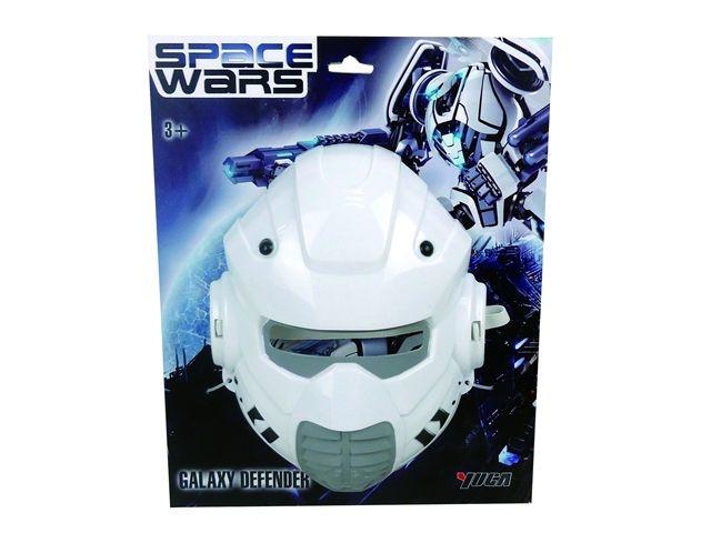 Space Wars Masker Wit