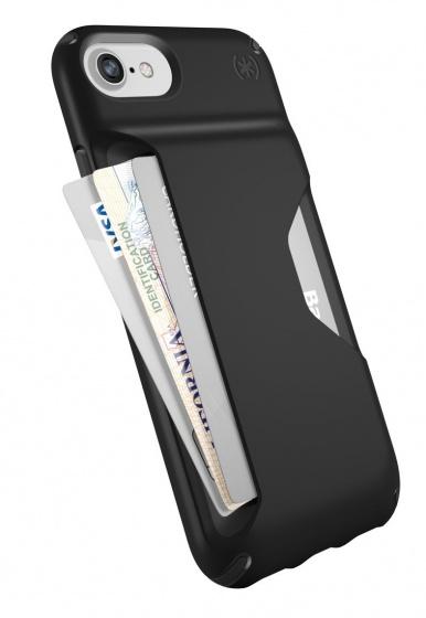 Speck Presidio Wallet IPhone 7 (Black-Black)