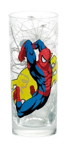 Marvel Spider man beker 360 ml transparant