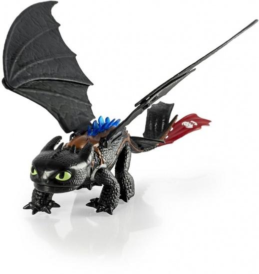 Spin Master Dragons Toothless Blast & Roar speelfiguur 35 cm
