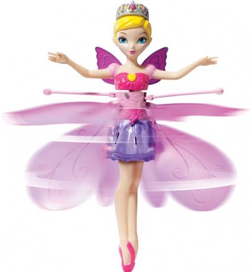 Spin Master Flying Fairy prinses kunststof roze 22 cm
