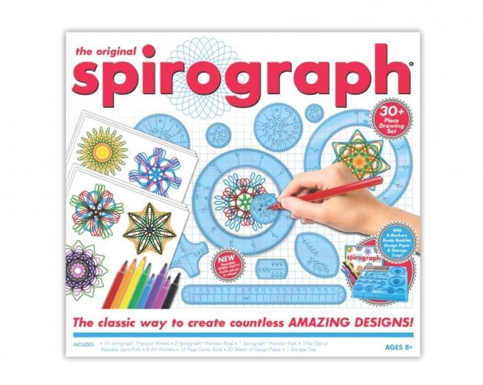 Spirograph kit met markers