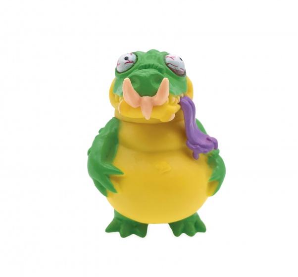 Splash Toys Grungies Crocod geel/groen 7 cm