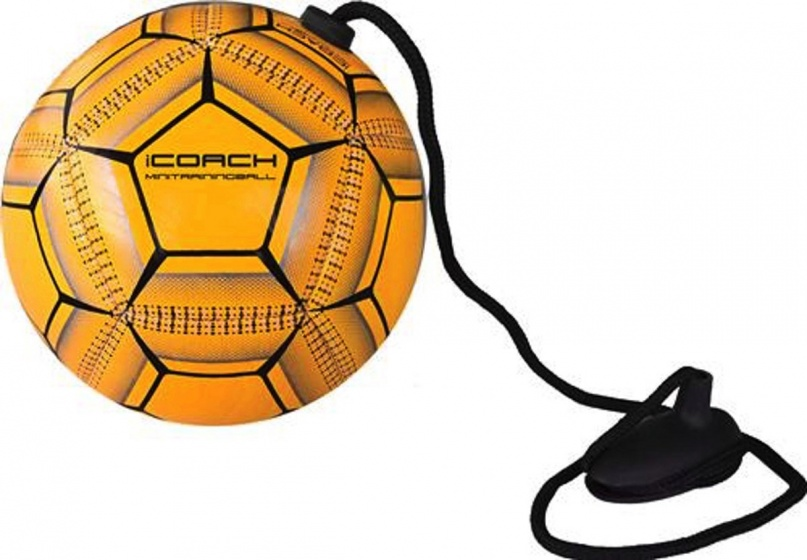Sportec iCoach mini trainingsbal 2.0 oranje
