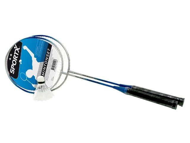 SportX Badmintonset Luxe Blauw
