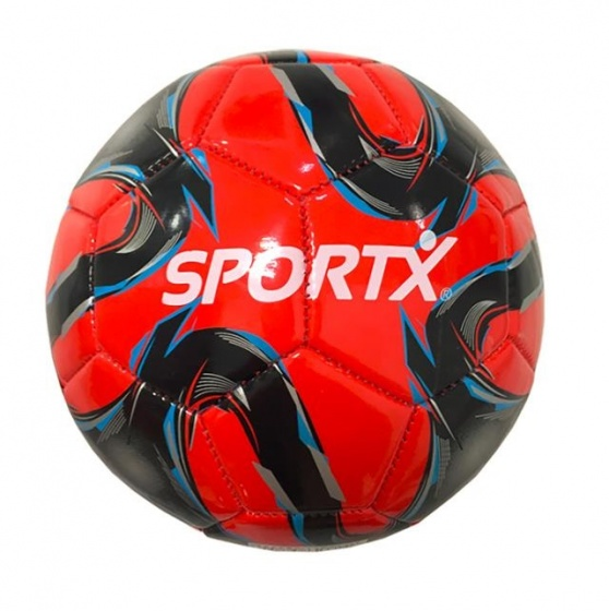 SportX mini voetbal Flame maat 2 rood