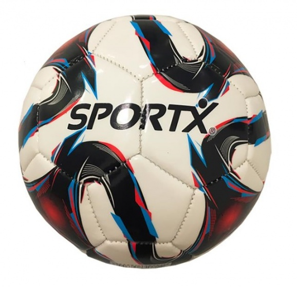 SportX mini voetbal Flame maat 2 wit