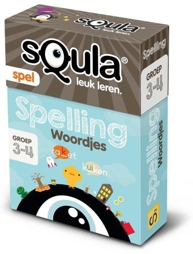 Squla Kaartspel Spelling Woordjes
