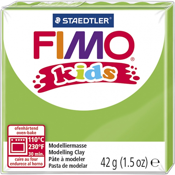 Fimo Kids modelling clay 42 grams lime