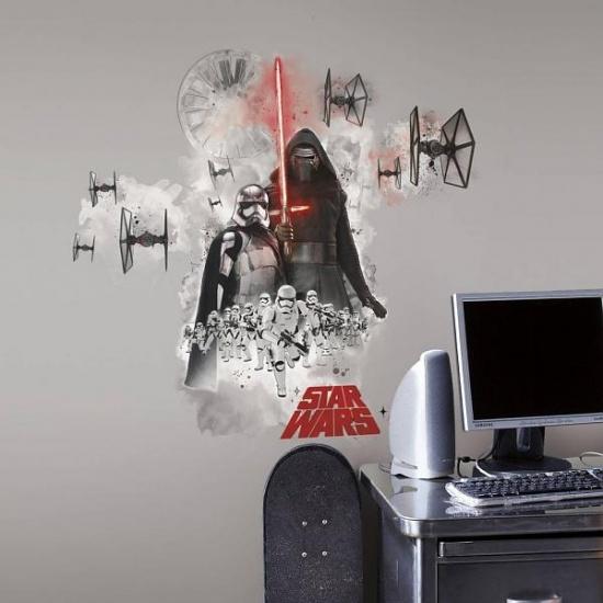 Star Wars Muursticker Vii: Villain