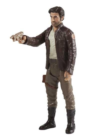 Disney The Last Jedi actiefiguur Poe Cameron 30 cm bruin