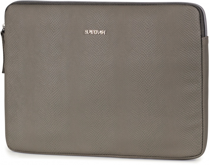 Stationery Team laptop sleeve Supertrash groen 24 x 33 cm kopen