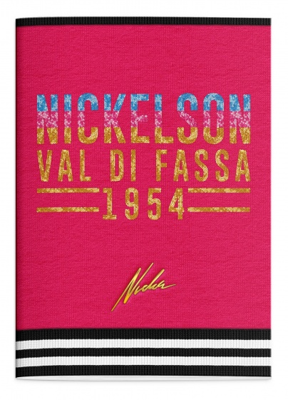 Stationery Team schrift Nickelson Girls A4 geruit kopen