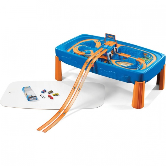Step2 Hot Wheels Car & Track speeltafel 120 x 66 x 41 cm
