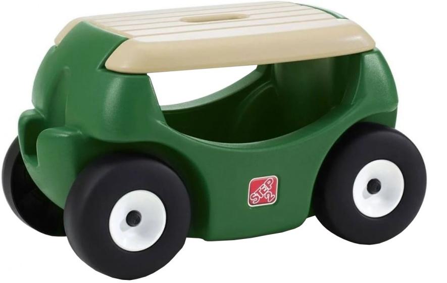 Step2 Mobiele tuinkruk Garden Hopper groen 58 cm kopen