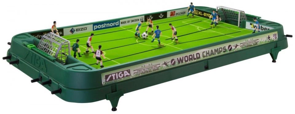 Stiga Tafelvoetbalspel World Champs 94 x 50 cm groen