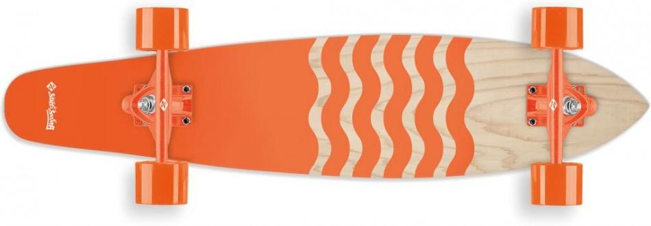Street Surfing Kicktail 36 Blown Out Longboard 91 x 21 cm
