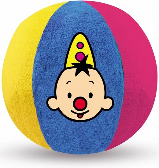 Studio 100 Bal Bumba pluche blauw/geel/rood 15 cm
