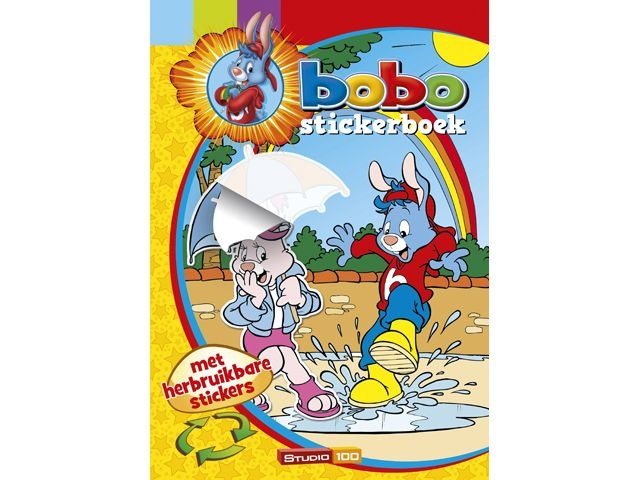 Studio 100 Bobo Stickerboek