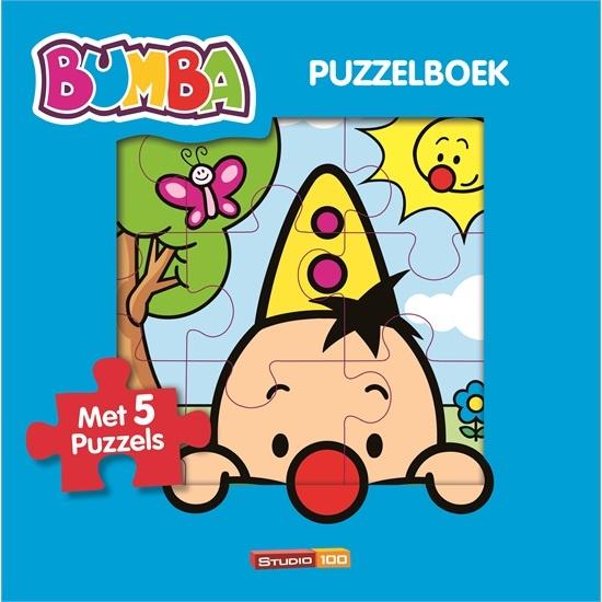 Studio 100 Boek Bumba Puzzelboek