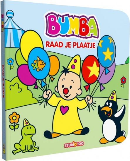 Studio 100 boek Bumba: Raad je plaatje