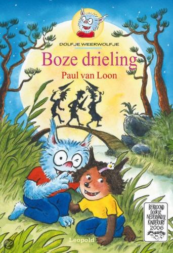 Studio 100 Boek Dolfje Weerwolfje: Boze Drieling