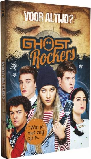 Studio 100 boek Ghost Rockers: voor altijd