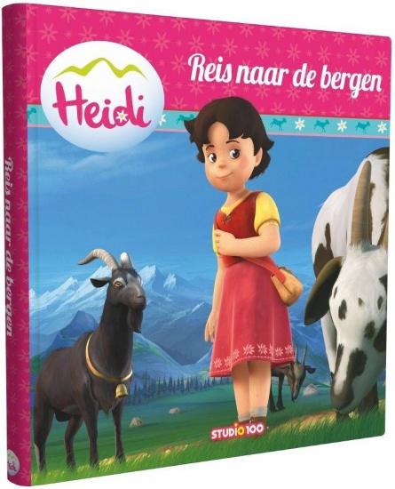 Studio 100 boek Heidi: Thuis in de bergen