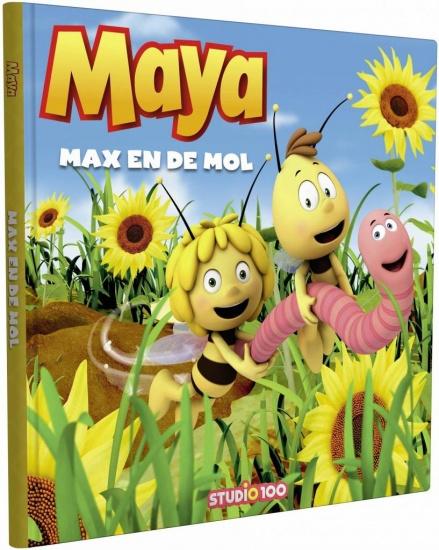 Studio 100 Boek Maya: Max en de mol