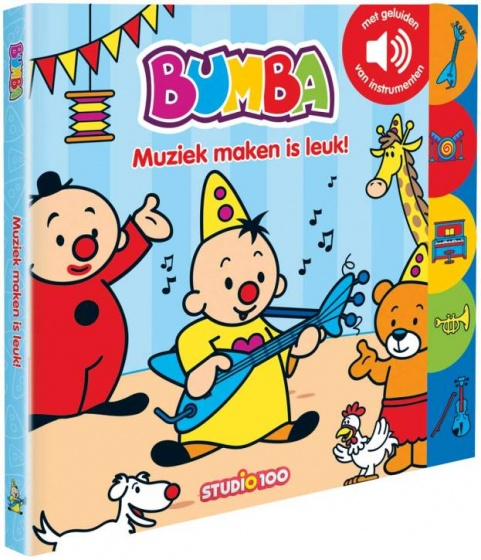 Studio 100 boekje Bumba Muziek maken is leuk