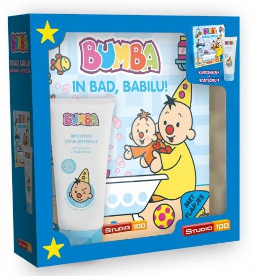 Studio 100 Bumba giftbox kartonboek babyboekje