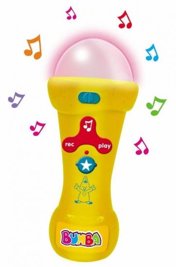 Studio 100 Bumba mijn eerste microfoon junior geel 20 x 7,5 cm