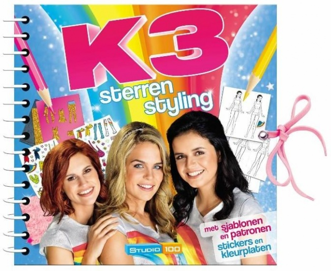 Studio 100 Doeboek K3 Sterrenstyling
