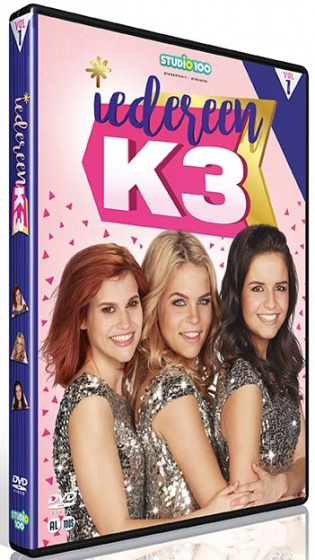 Studio 100 DVD Iedereen K3 volume 1