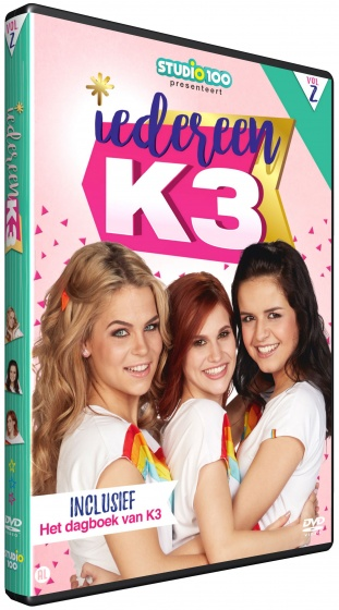 Studio 100 DVD Iedereen K3 volume 2