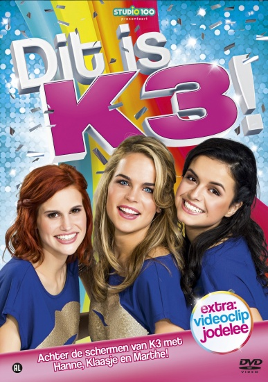 Studio 100 Dvd K3: dit is K3