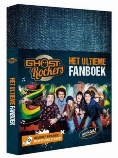 Studio 100 fanboek Ghost Rockers