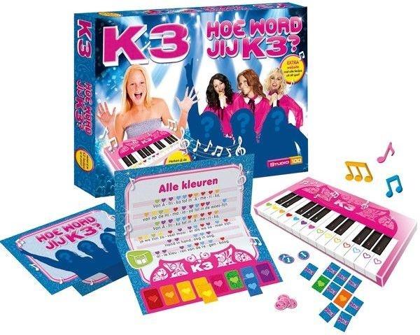 Studio 100 Hoe Word Jij K3 met piano