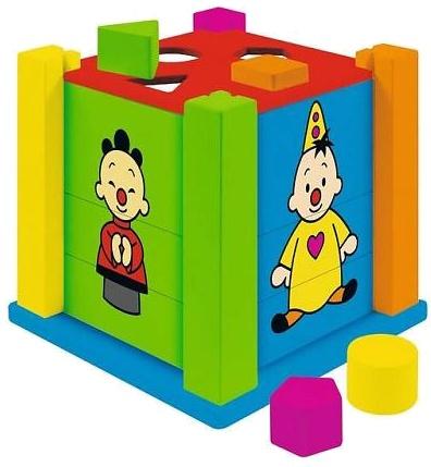 Studio 100 houten vormenstoof Bumba met puzzels
