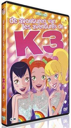 Studio 100 K3 Dvd: Avonturen van K3 vol.1