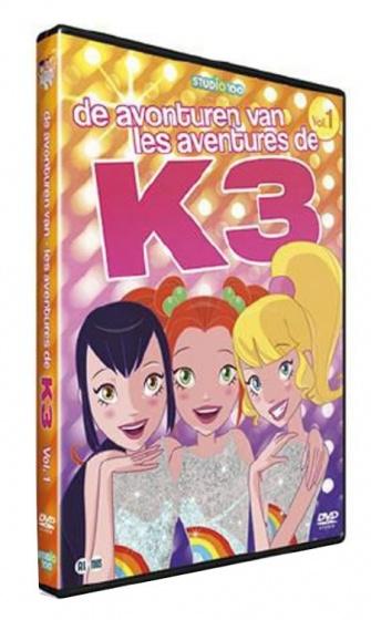 De avonturen van K3 DVD