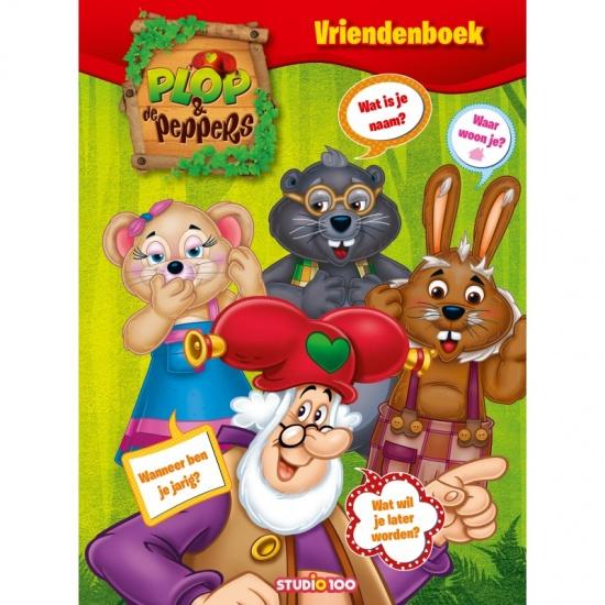 Studio 100 kabouter Plop & Peppers vriendenboek